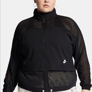 Nike Plus Size Mesh Jacket